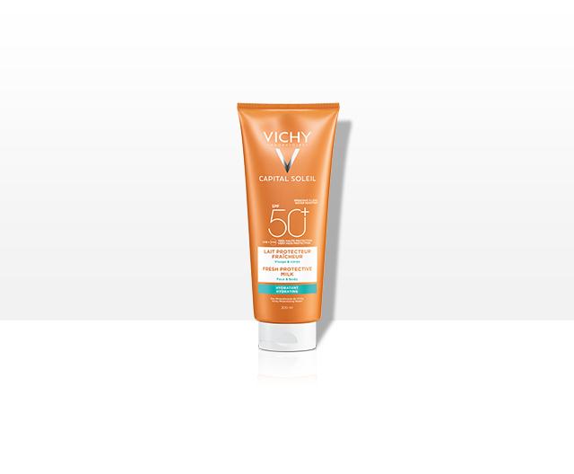 Trusă Capital Soleil: Lapte Multi-Protector SPF50+ + Lapte după plajă 100 ml