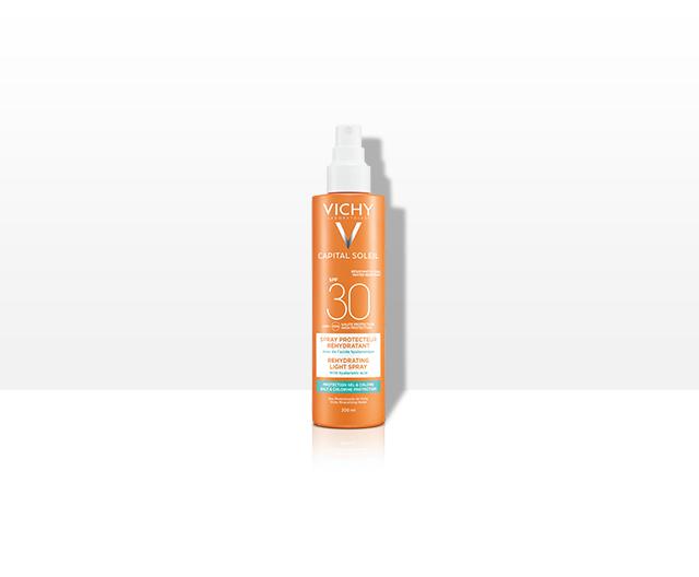 Trusa Capital Soleil:Spray hidratant SPF30+ + Lapte dupa plaja 100ml