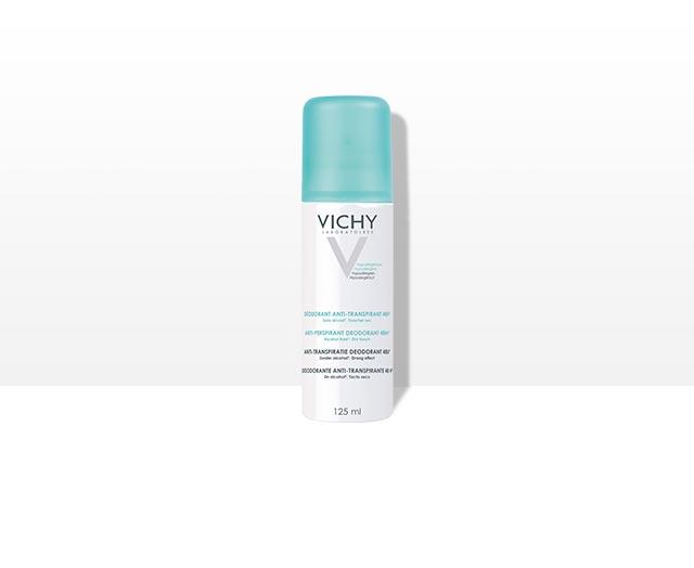 Deodorant spray antiperspirant fără alcool, eficacitate 48h