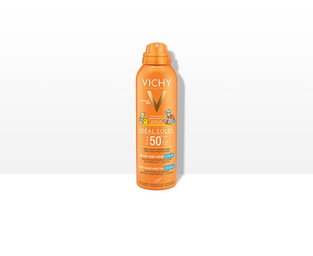 """Spray pentru copii cuTehnologia """"Anti-Nisip"""" SPF50+"""