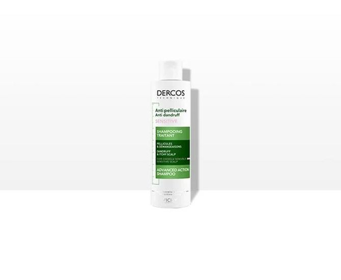 Acesta nu conține sulfați dar are în compoziția sa pirocton-olamina, o substanță activă care reglează procesul de descuamare a pielii și luptă împotriva ciupercii Malaessezia, responsabilă de apariția mătreții.