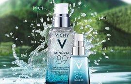 Mineral 89 Gel-booster zi și Mineral89 EYES Gel contur ochi